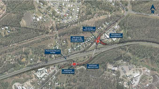 Community called to have say on Mount Crosby Rd interchange