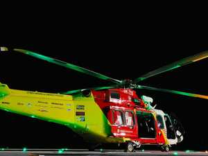 Multiple emergencies for chopper rescue service