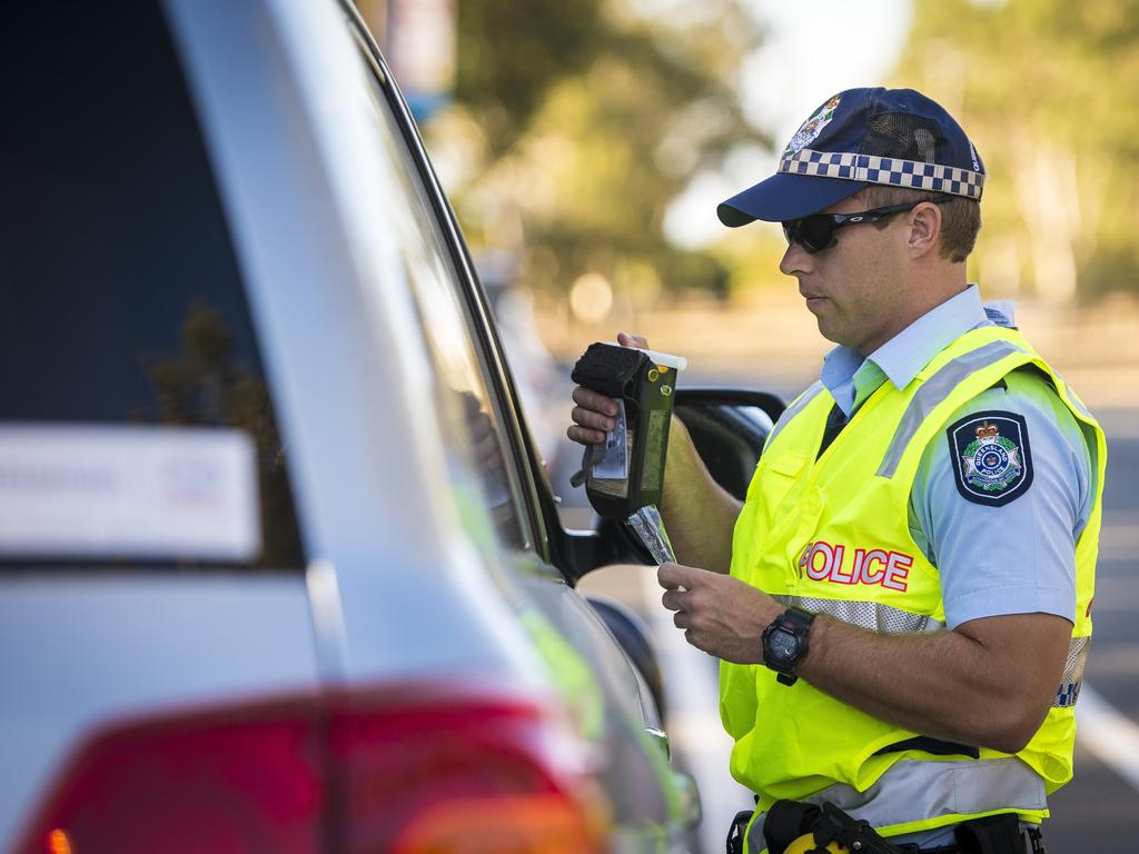 Police officers over the Fraser Coast have caught many people drink driving over the past four days. Photo: File
