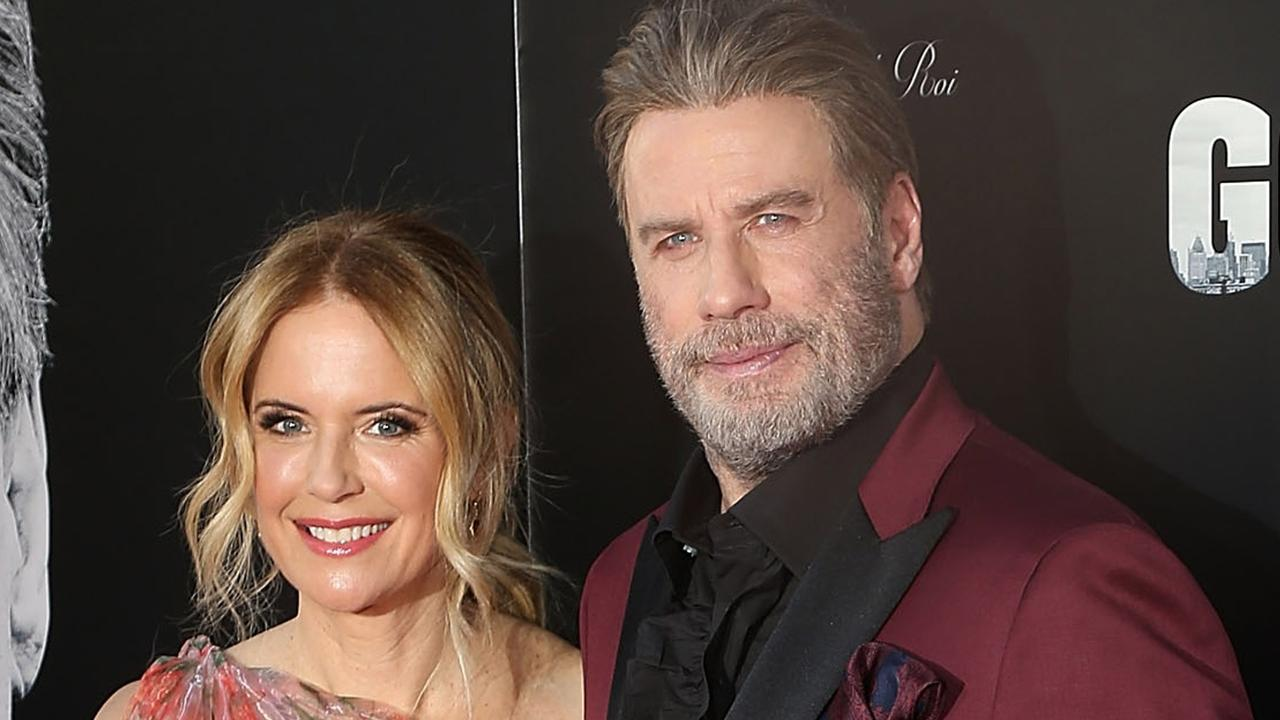 Kelly Preston and John Travolta. Picture: Getty Images.