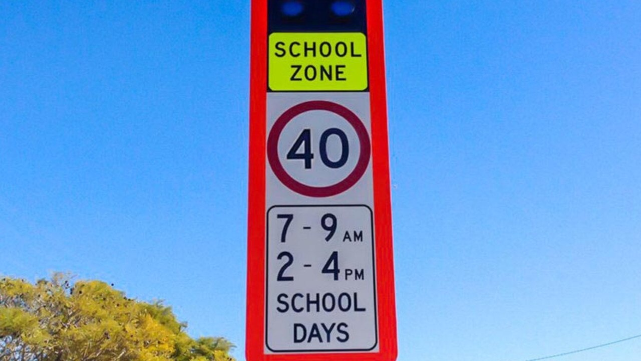 Noosa drivers have to slow down at school speed zones from this morning.
