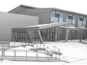 FIRST LOOK: Sarina High's new $12m arts, sports hall