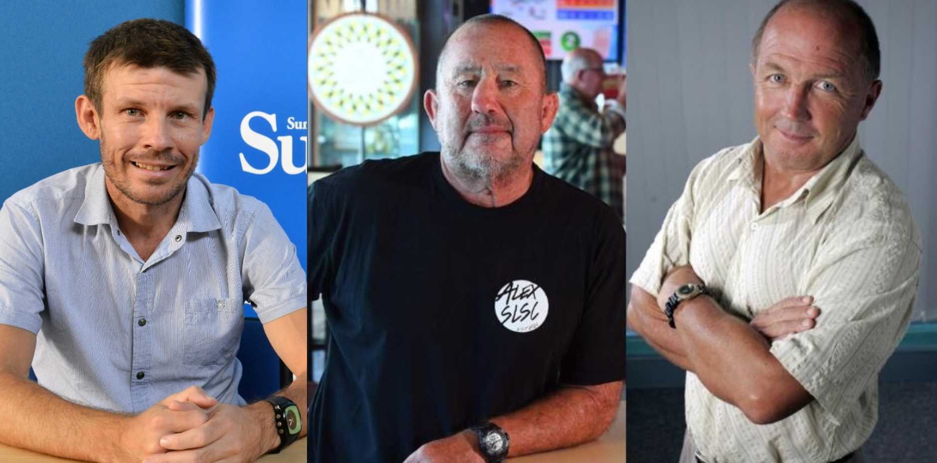 (From left) Steele Taylor, Ashley Robinson and Bill Hoffman.