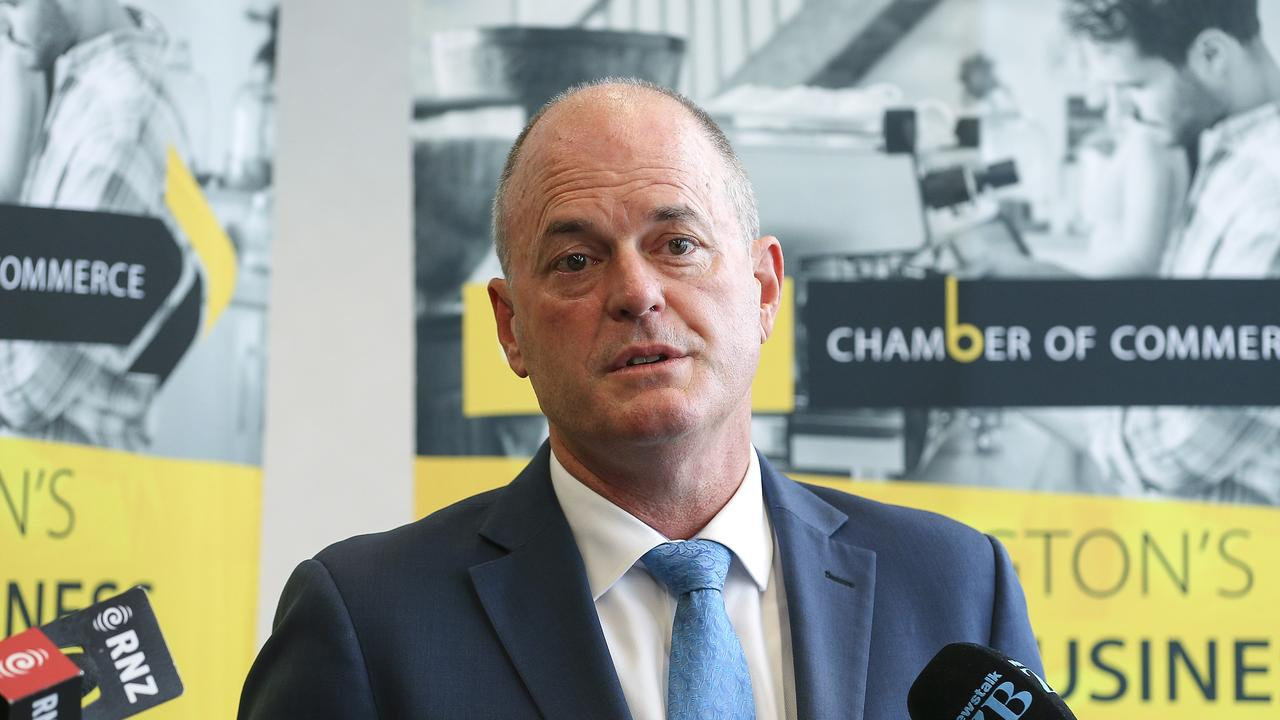 Former New Zealand National Party Leader Todd Muller resigned this morning, just nine weeks out from an election. Picture: Hagen Hopkins/Getty Images
