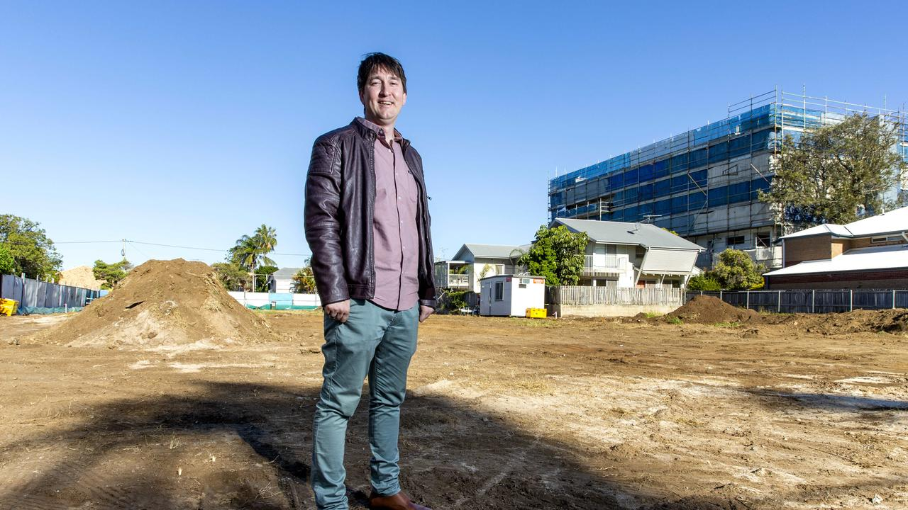Developer Justin Ham can't wait to see what's next for Wynnum. Picture: AAP/Richard Walker