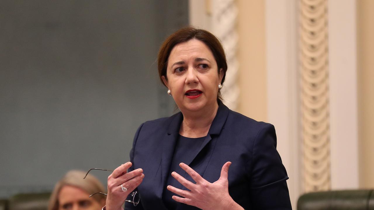 QLD Premier Annastacia Palaszczuk, Parliament House, Brisbane. Photographer: Liam Kidston