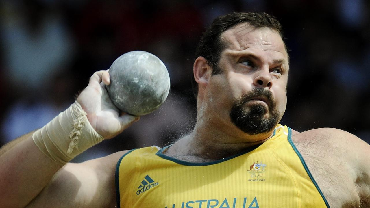 Toowoomba's Justin Anlezark competes during the qualifying stage of the 2008 Beijing Olympic Games. Anlezark represented Australia at three Olympic Games. Picture: News Limited
