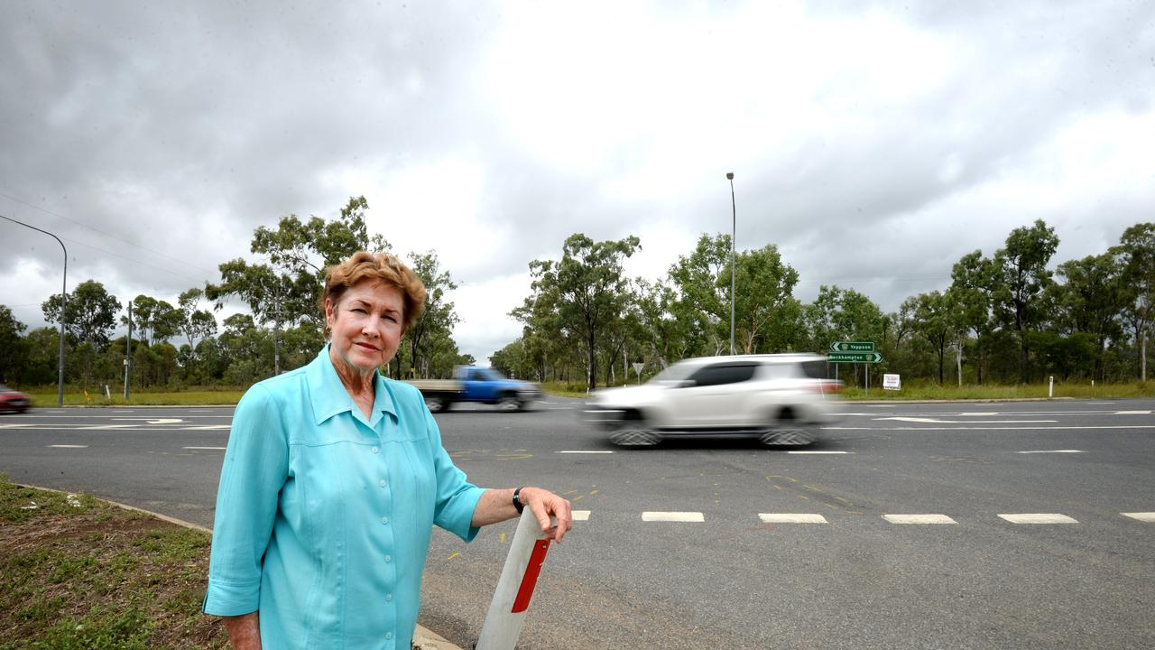 Cr Glenda Mather is pleased to see upgrades of rural roads happening in Livingstone Shire.