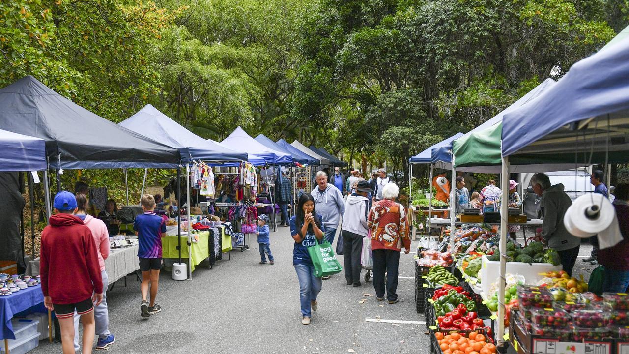 The Rotary Charity Markets held at Tondoon Botanic Gardens, Gladstone.