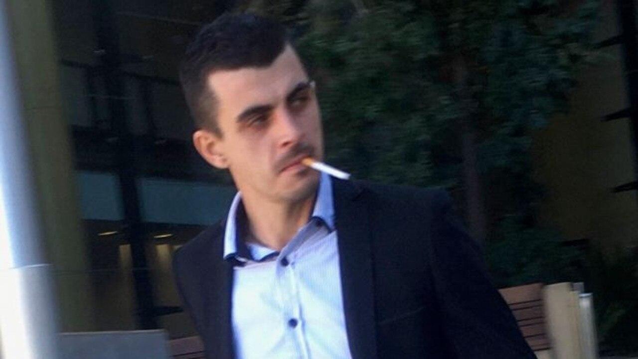 Ventzislav Branimirov Kostov leaves court after admitting to common assault.