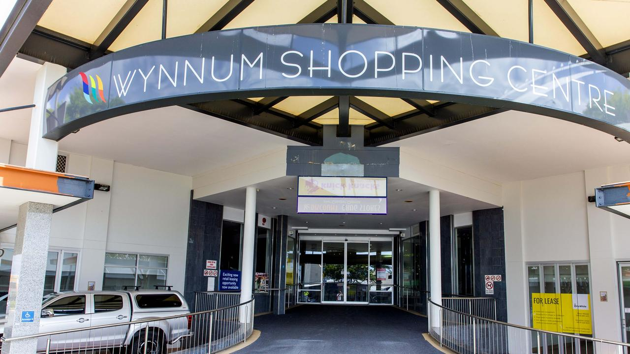 The Wynnum Shopping Centre in 2019, which has since been transformed into a flashy, new health hub. Picture: AAP/Richard Walker