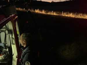 Emergency crews called to car crash in Tabulam