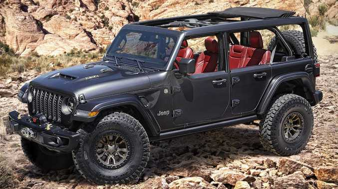 Jeep reveals new monster 4WD
