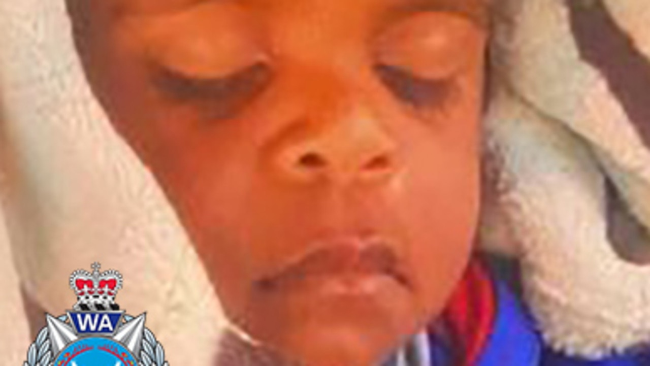 Western Australia Police are searching for Albert, 2, in the Margaret River area. Source: Western Australia Police