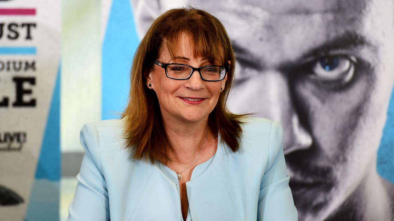 A mayor has been slammed for her 'unprofessional and out of touch' comments at the Jeff Horn v Tim Tszyu press conference.