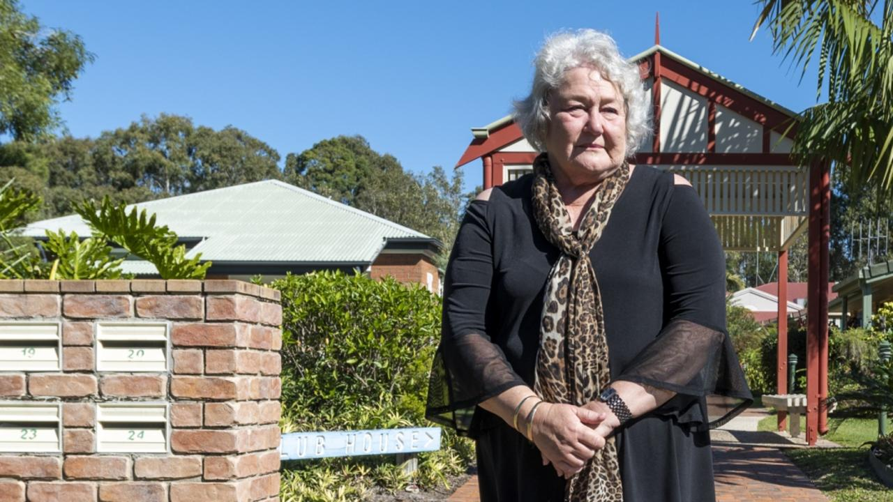 Rodney Lohse, who directed Cooloola Waters Retirement Resort with mum Gay (pictured), says the decision to liquidate the 30-year company was 'absolutely gutting'. . Photo John Wilson