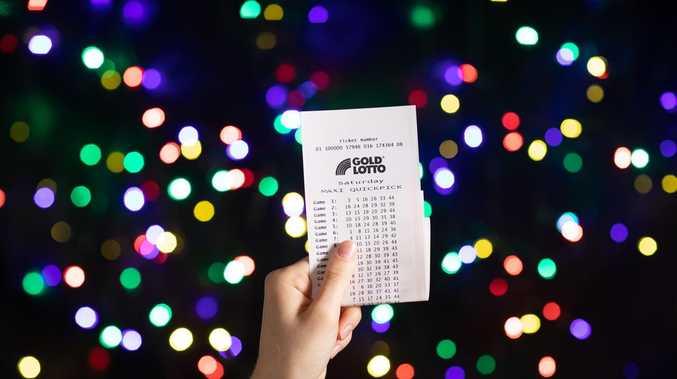 Toowoomba mum's $850,000 lotto win