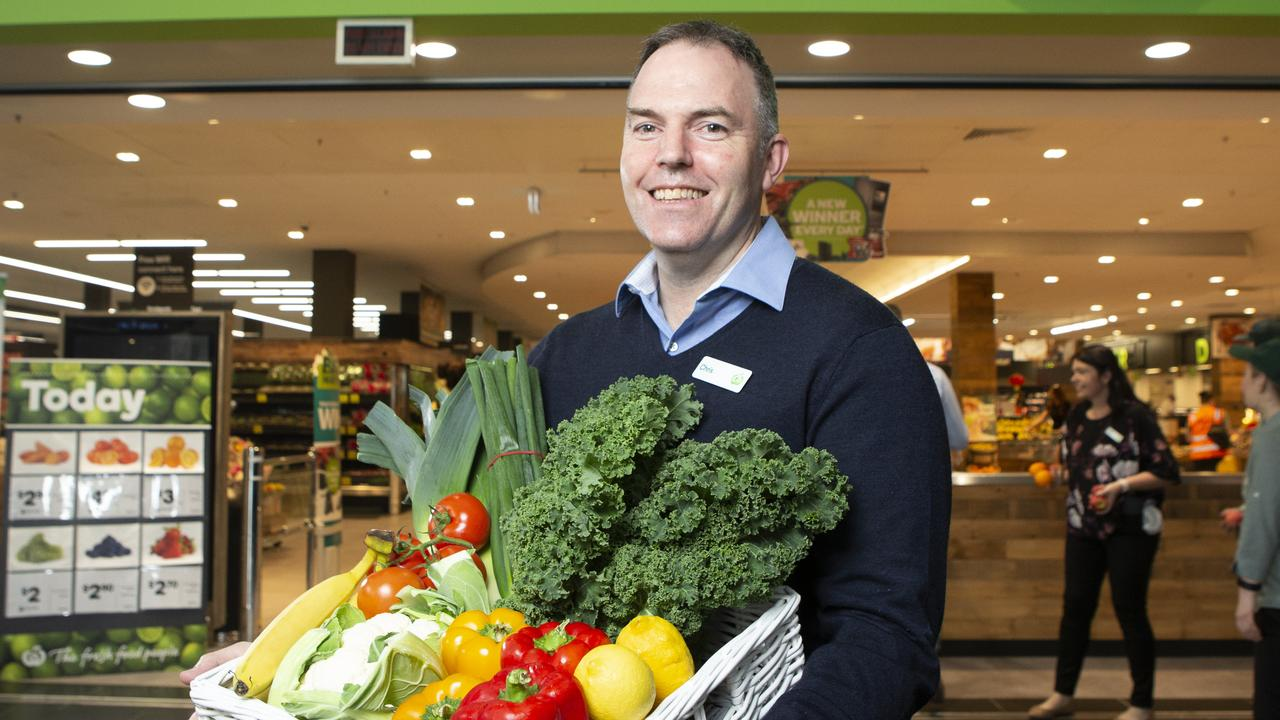 Woolworths QLD State General Manager Chris Peters. Picture: Sarah Marshall.