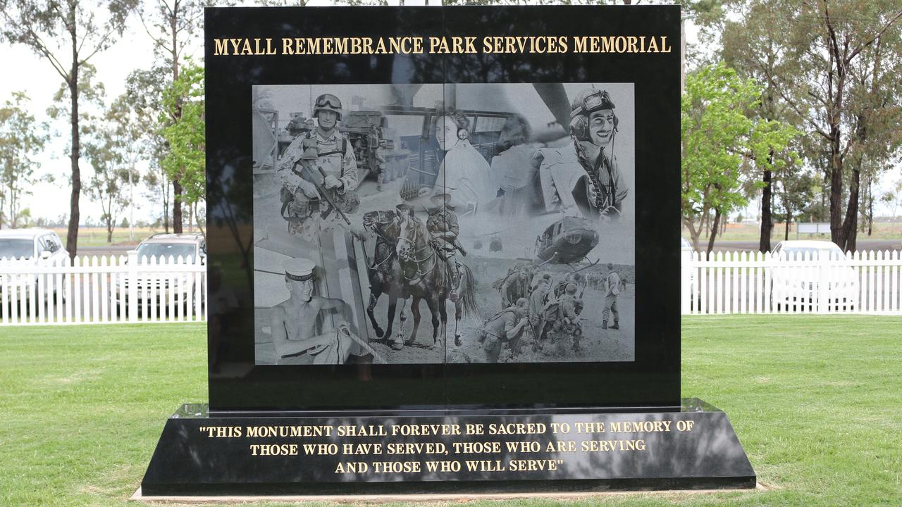 UPGRADE: Local servicemen and women of the Western Downs are never forgotten as Myall Remembrance Park continues to expand its Services Memorial wall.