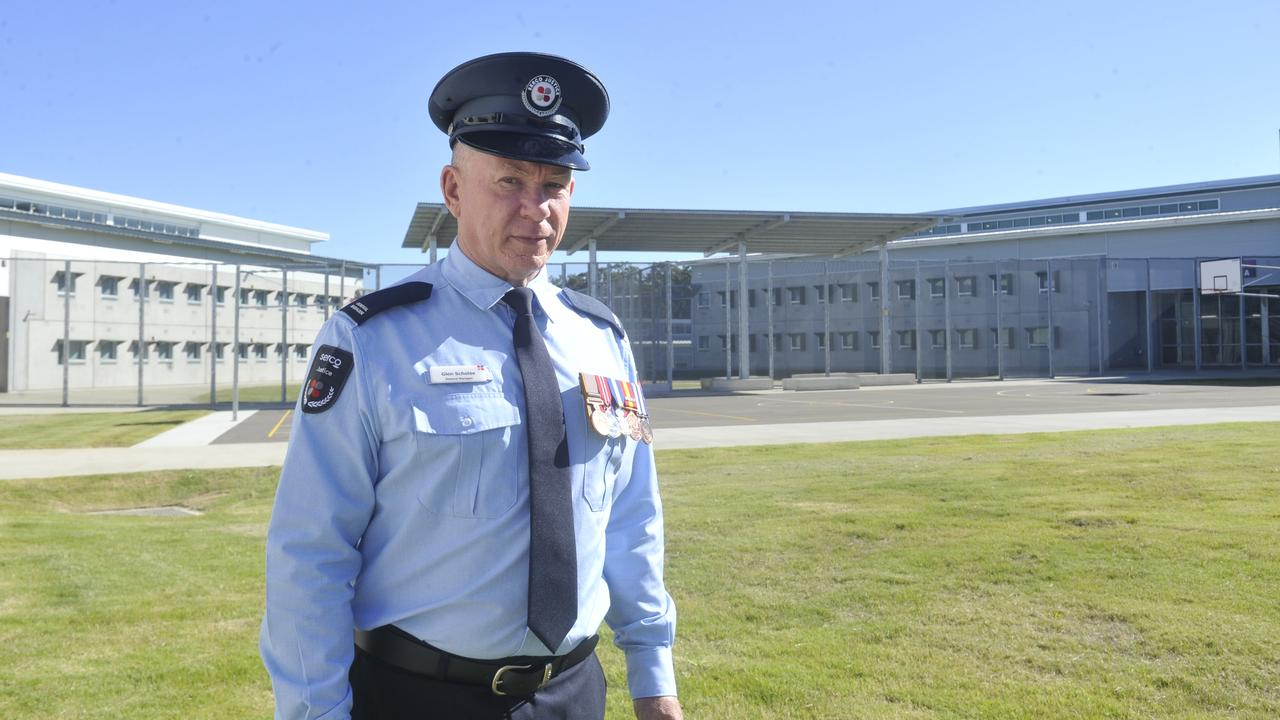 General manager Glen Scholes at the Clarence Correctional Centre. New Grafton jail.