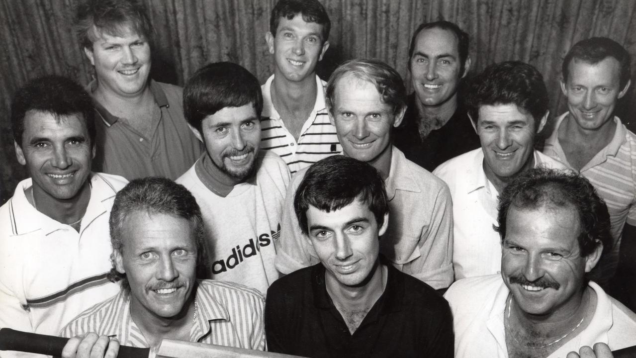 Sunshine Coast Cricket's Division 1 Team of the 1980s included: Ken Anderson, Wes Hall, Stan Johnston, Ken Johnston, Gaven Ashworth, Phil Martyn, Mike Blundell, Mark Allsopp, Kent Officer, Nev Kuskopf, Pat Drew, Phil Drescher.