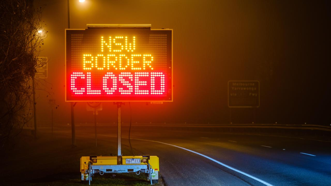 """CLOSED FOR BUSINESS: The borders are """"open"""" but not for the community of Cullendore, who have been cut off from their economic centre of Warwick."""