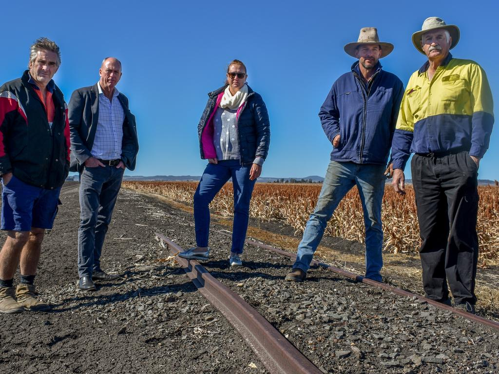Landholders near Cecil Plains are frustrated by the government's Inland Rail route review, saying the land along the 'forestry route' is not suitable for the infrastructure project. Their loss could prove Warwick's gain.
