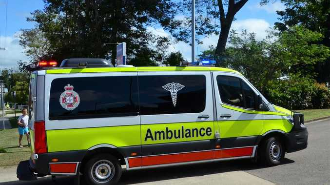 Car crash victim rushed to hospital