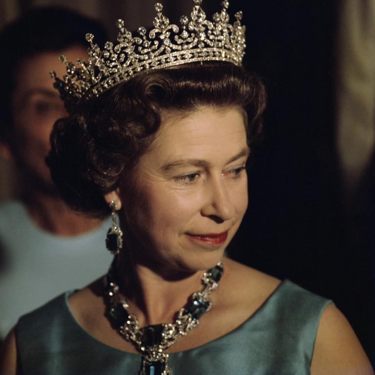 Queen Elizabeth II in 1975. Picture: Serge Lemoine/Getty Images