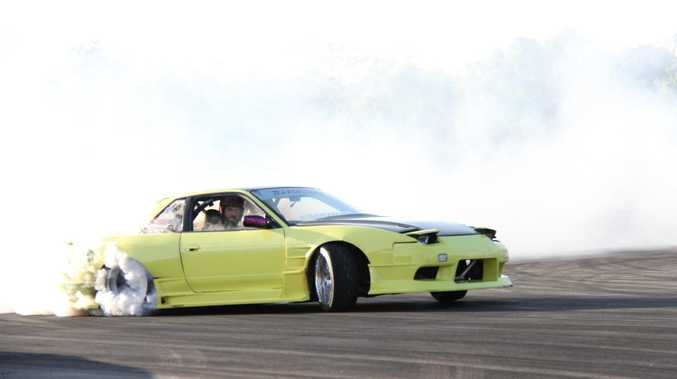 Speed machines: Drift cars return to Benaraby after COVID