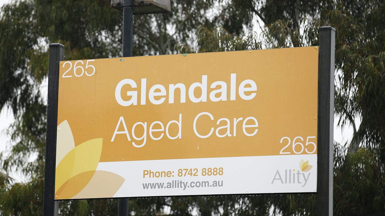 Werribee's Glendale Aged Care is among the facilities concerning health authorities. Picture: NCA NewsWire/Daniel Pockett