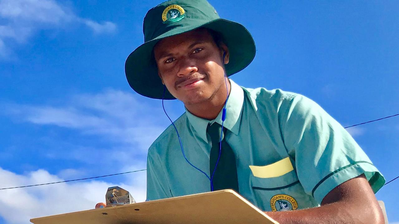 TRAGIC LOSS: Herbert Moses, 16, is being remembered as a person of outstanding character after his death following a single-vehicle crash in far north Queensland. Picture: Contributed
