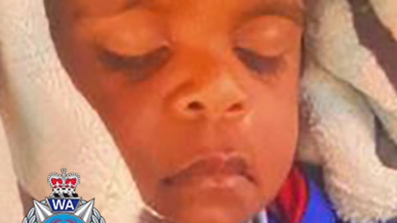 Albert, 2, went missing in the Margaret River area. Source: Western Australia Police