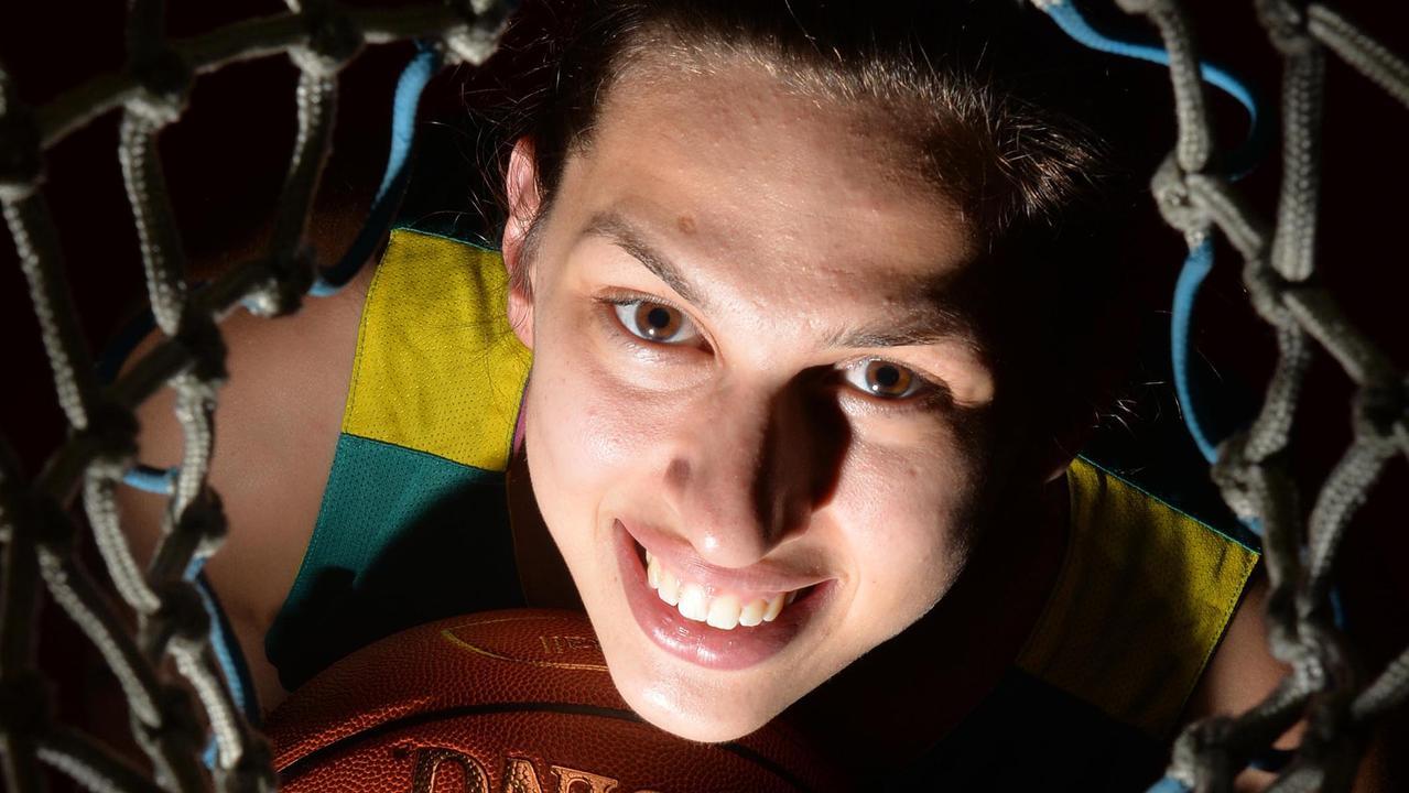 Basketballer Marianna Tolo in 2015. Picture: Tony Martin