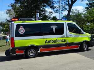 Car crash victim rushed to hospital