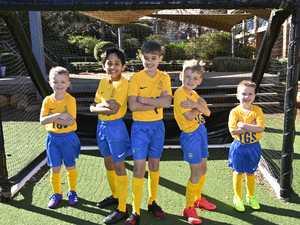 Grammar Junior football players