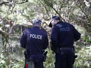 Police search Arakwal bushland