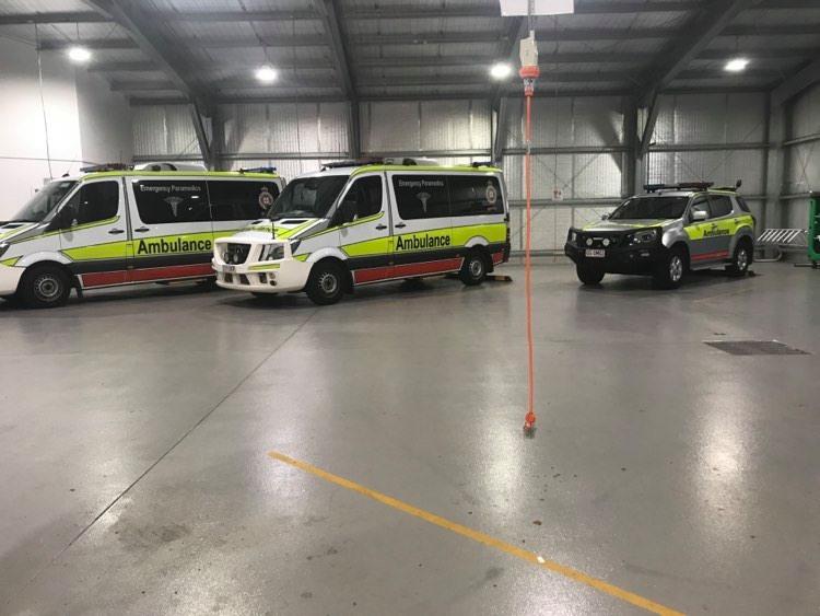 Ambulance crews have been run off their feet.