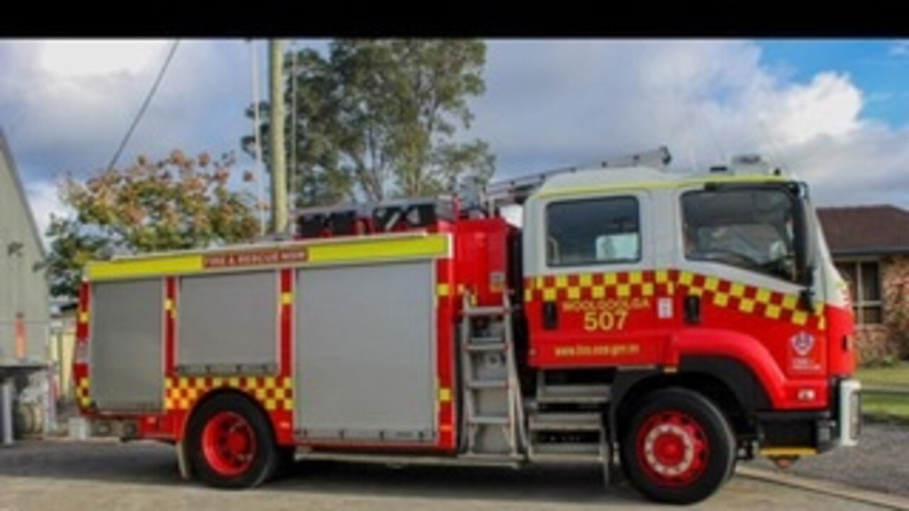 Woolgoolga Fire and Rescue NSW truck