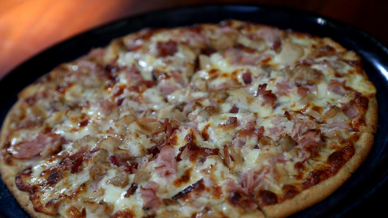 PIZZA MAD: When the pizza arrived minus the drink that was ordered, the man refused to pay which led to his bizarre order being read aloud in court. PICTURE: STEWART MCLEAN