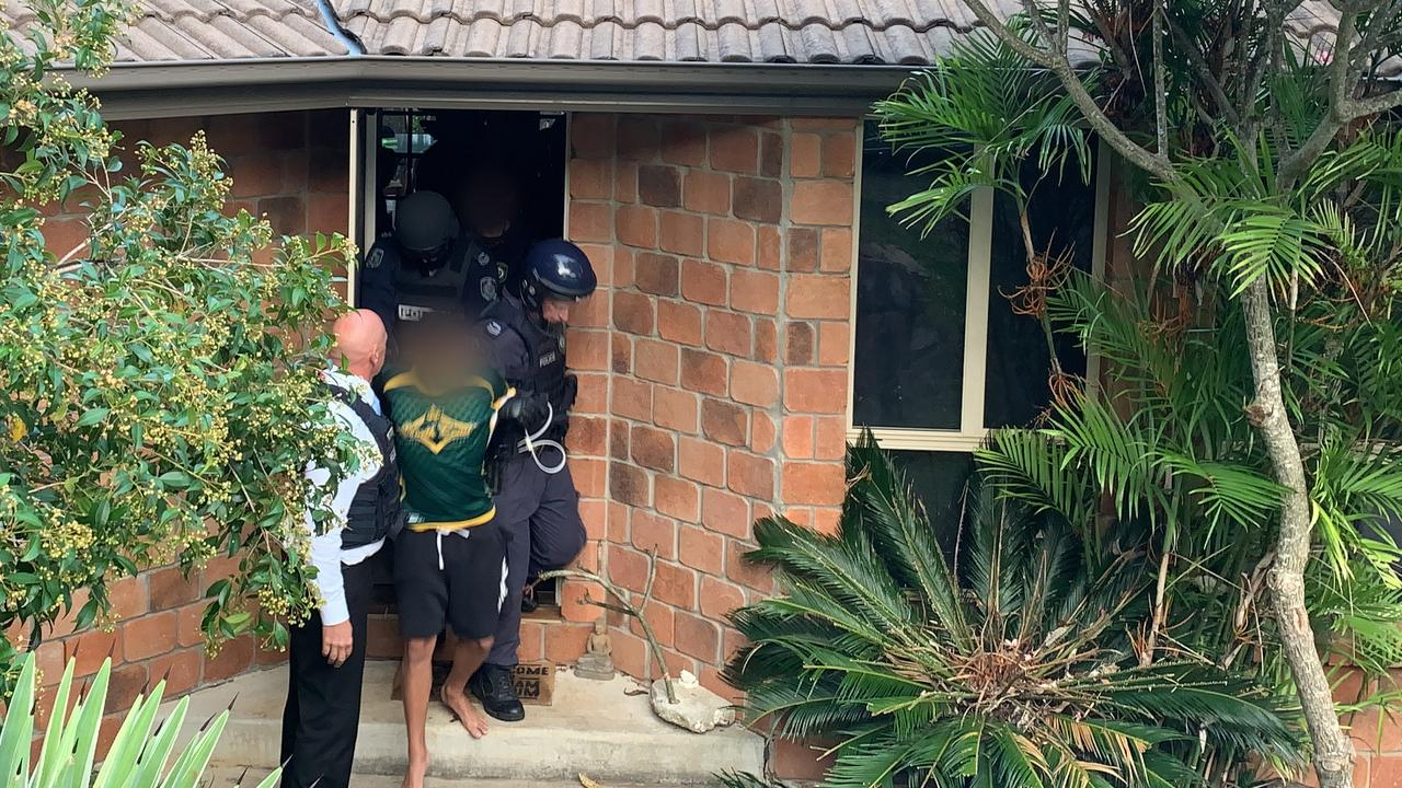 Police executed a search warrant in January at a home in Tweed Heads West and arrested an 18-year-old man, who was charged with the murder of Jesse Vilkelis-Curas.