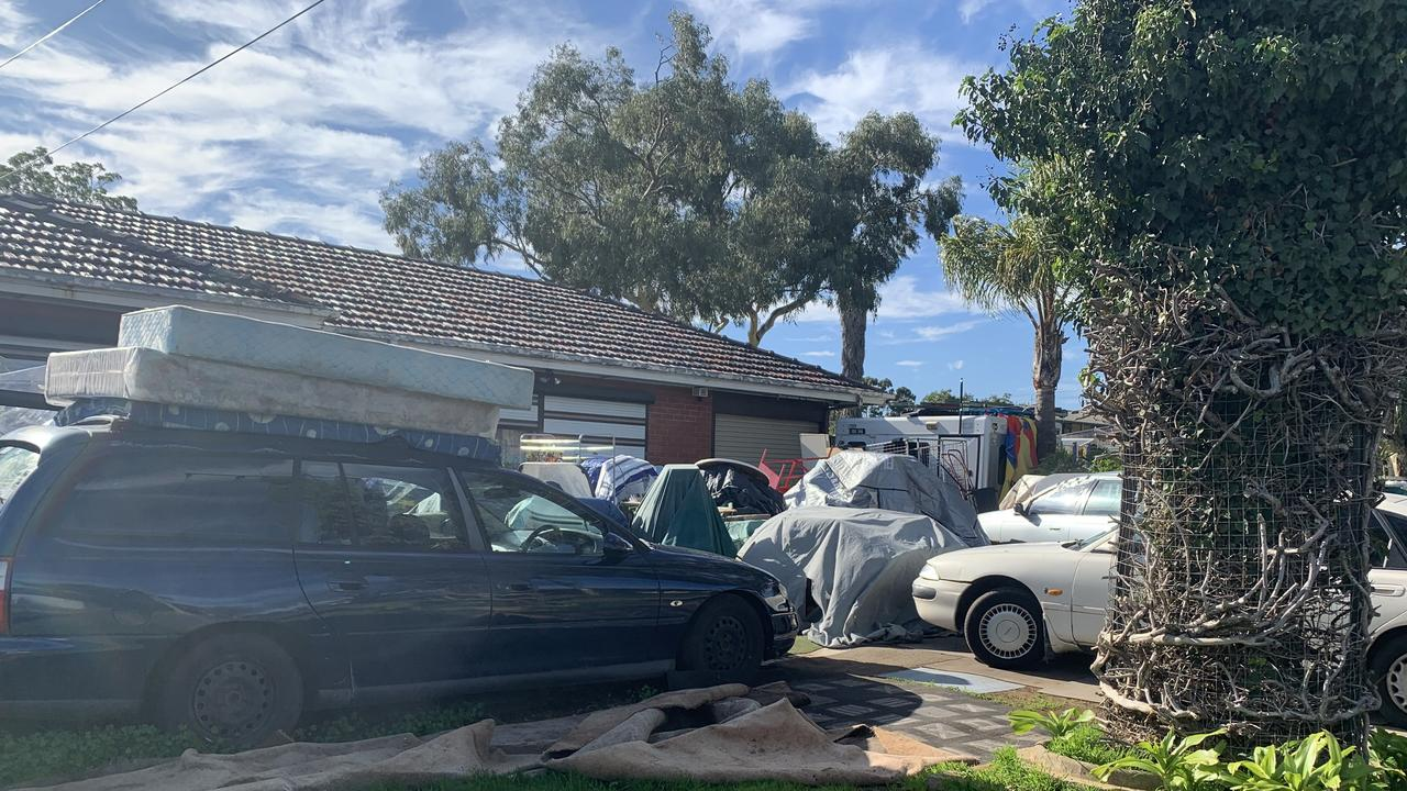 Car parts, wheelchairs, mattresses, tyres and more – meet some of the worst hoarders whose backyards are so bad, they've been taken to court.
