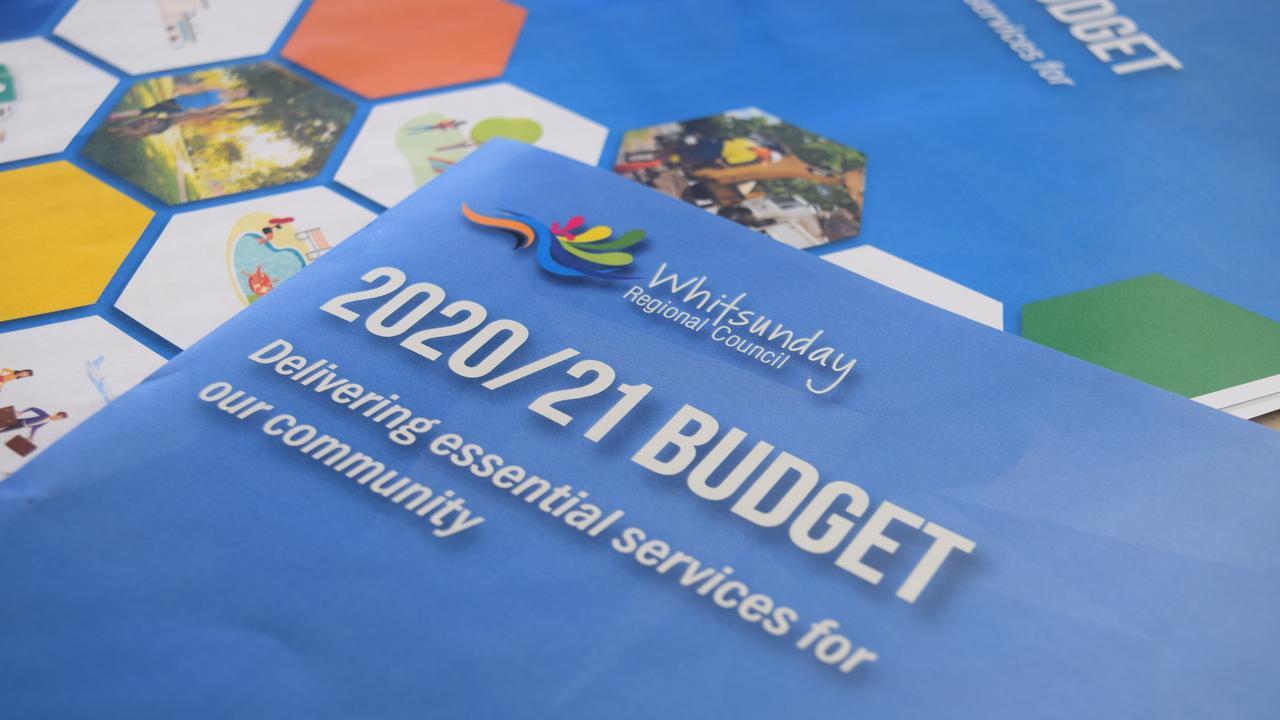 Whitsunday Regional Council unveiled the 2020/21 budget today. Image: Laura Thomas