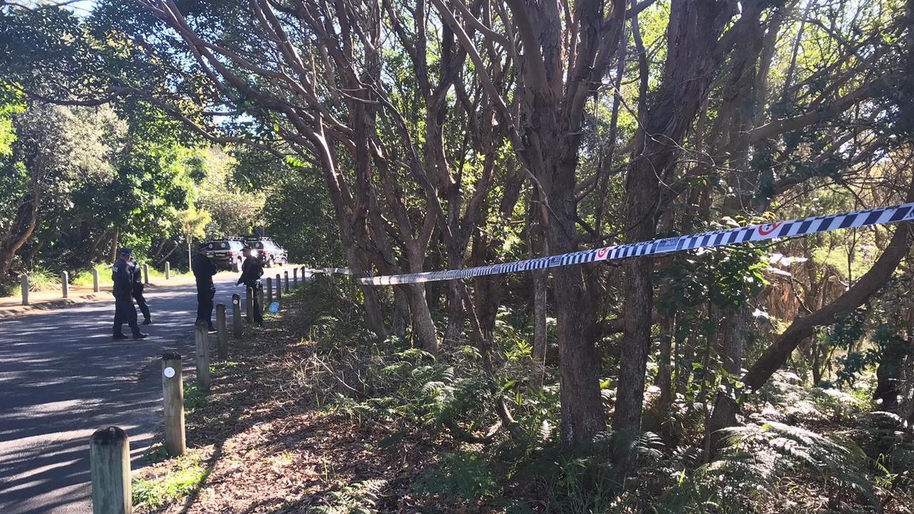 A crime scene has been established near Tallow Beach Rd, Byron Bay.