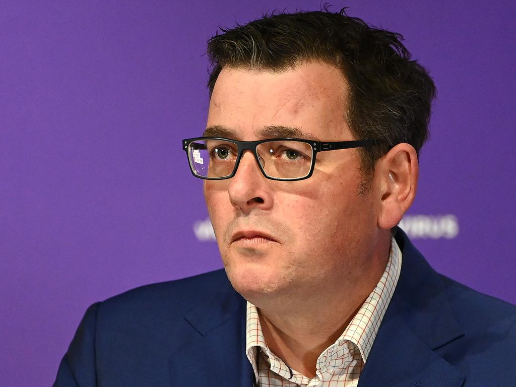 Premier Daniel Andrews confirmed Victorians have died of coronavirus in the past 24 hours – two overnight and a woman in her 90s this morning.