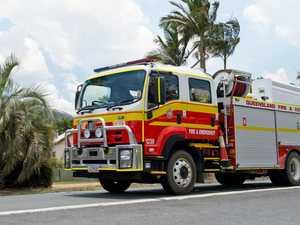 Kitchen fire breaks out on suburban street