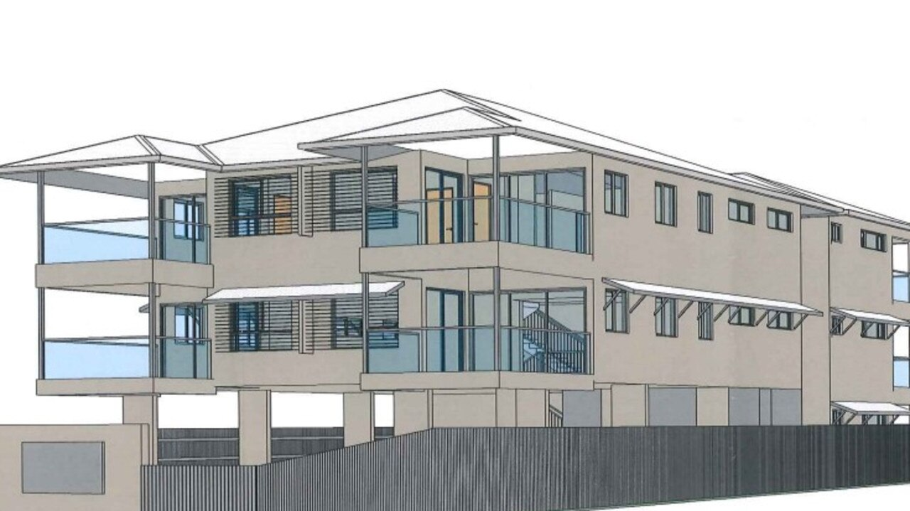 An artist impression for the units planned for 233 Kamerunga Rd in Freshwater.