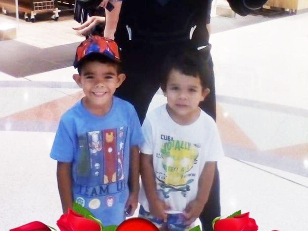 Barak Austral, 5 with Jhulio Sariago, 3, died in the Ross River in February 2019.