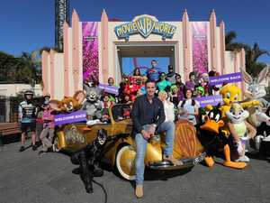 Welcome back: Movie World rolls out the red carpet