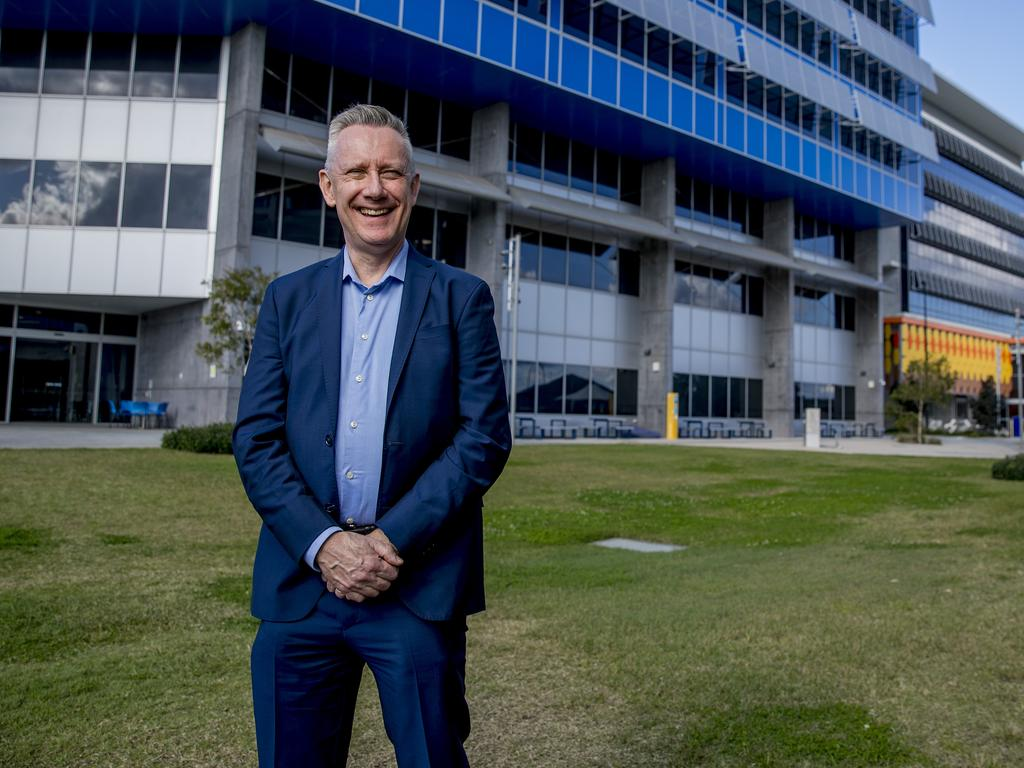 Southern Cross University Vice Chancellor and Professor Adam Shoemaker has praised students and staff for their efforts during COVID-19 . Picture: Jerad Williams